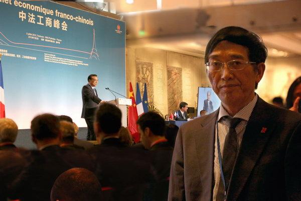 PM Li Keqiang Visits France, Chai